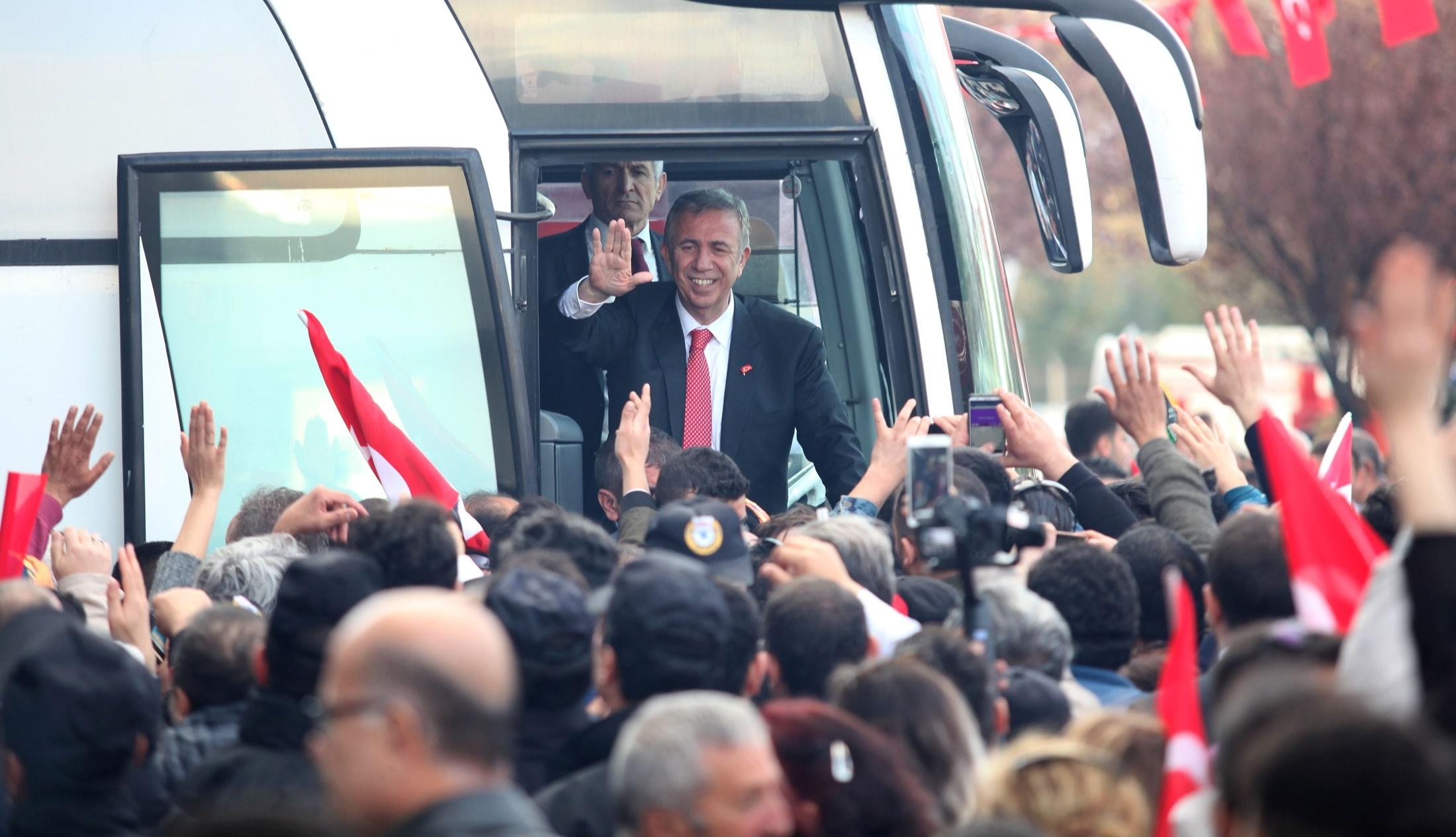 Ankara'ya yorulmadan hizmet edeceğim