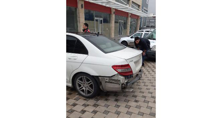 Polis otosuna çarpıp kaçan sürücü yakalandı
