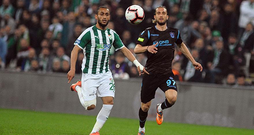 Trabzonspor, Bursa'da uçtu