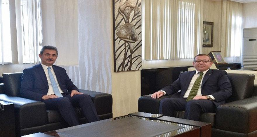 Kaymakam Polat'tan Başkan Köse'ye hayırlı olsun ziyareti