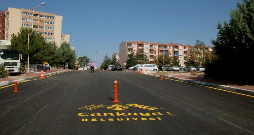 Çankaya asfaltta yeni döneme hazır