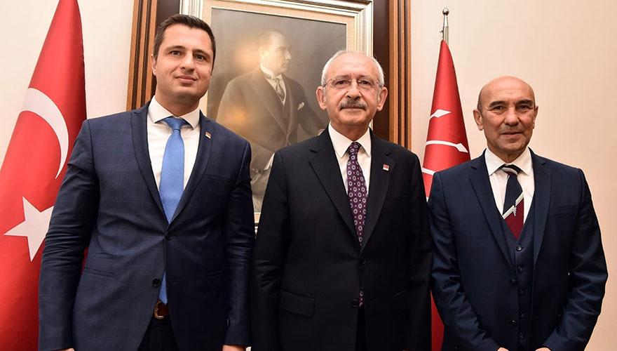 Kılıçdaroğlu, İzmir ve ilçe belediye başkanlarını kabul etti
