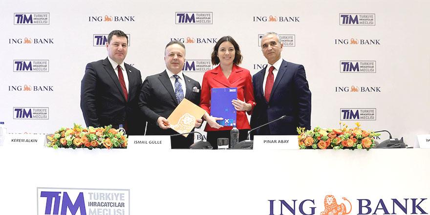 ING Bank ve TİM'den işbirliği