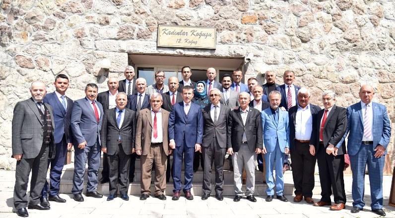 Başkan Asım Balcı Altındağ mahalle muhtarlarıyla buluştu