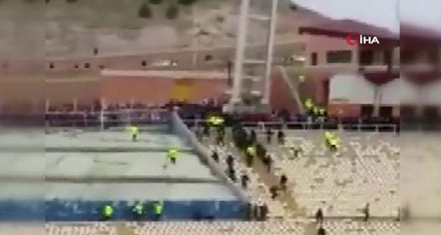 Maç sonrası çıkan kavgada 60 kişi yaralandı