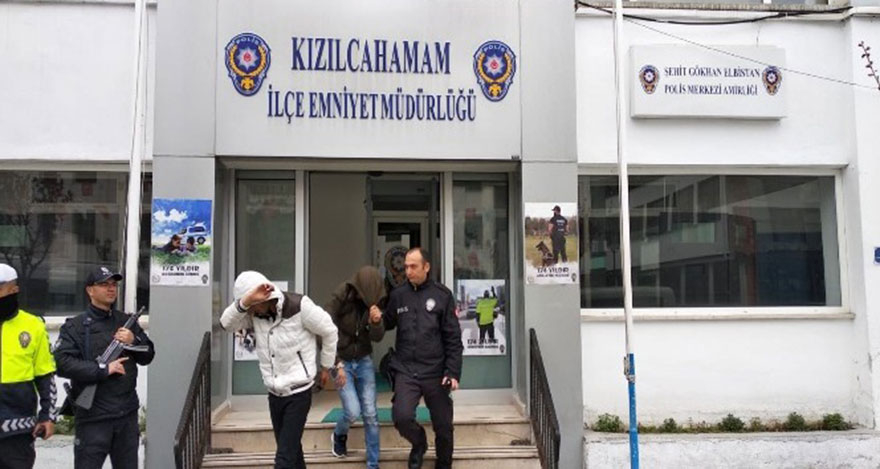 Ankara'da kablo hırsızlarına polisten suçüstü