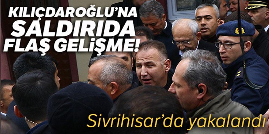 Kılıçdaroğlu'na saldıranlardan biri Sivrihisar'da yakalandı