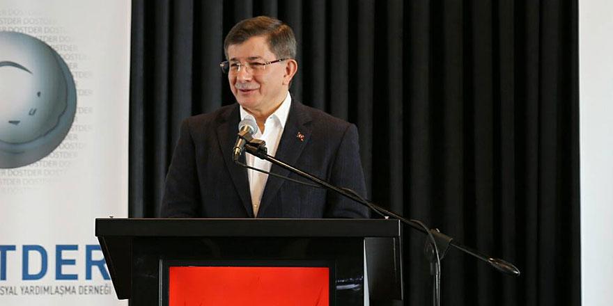 Ahmet Davutoğlu'ndan olay açıklamalar