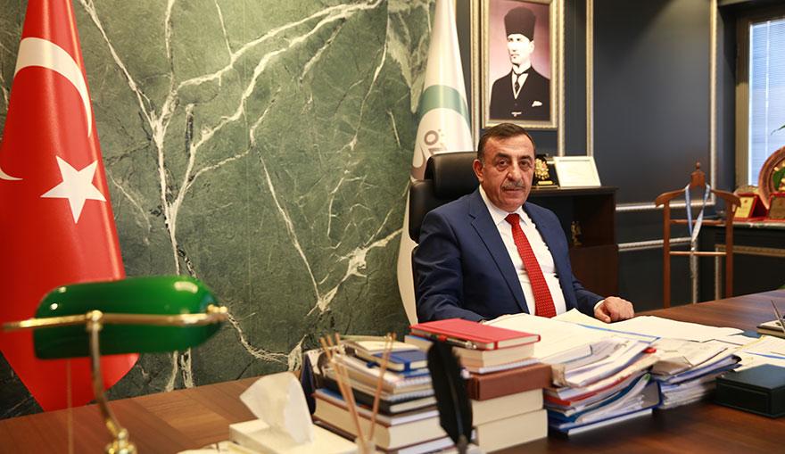 """Öz Taşıma-İş Başkanı Mustafa Toruntay; """"Kıskanıp iftira atacaklarına, daha çok çalışsınlar"""