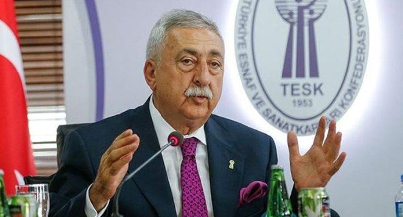 TESK Genel Başkanı Palandöken: Tarım ürünlerindeki KDV düşürülmeli