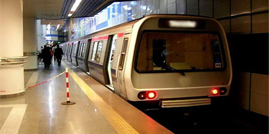 Ankara metrosunda arıza