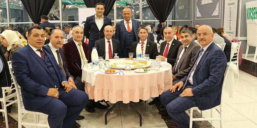 Sincan Kırşehirliler'den muhteşem Ahi Pilavı etkinliği