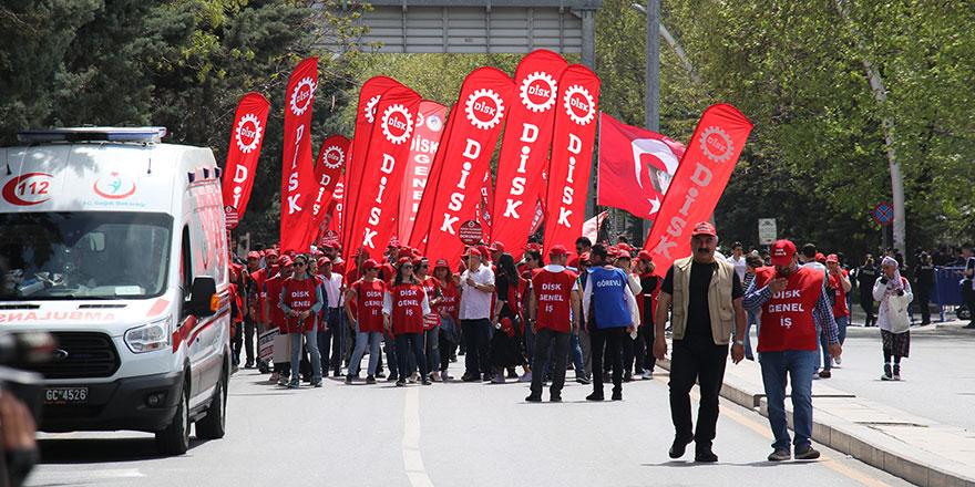 Ankara'da 1 Mayıs kutlamaları
