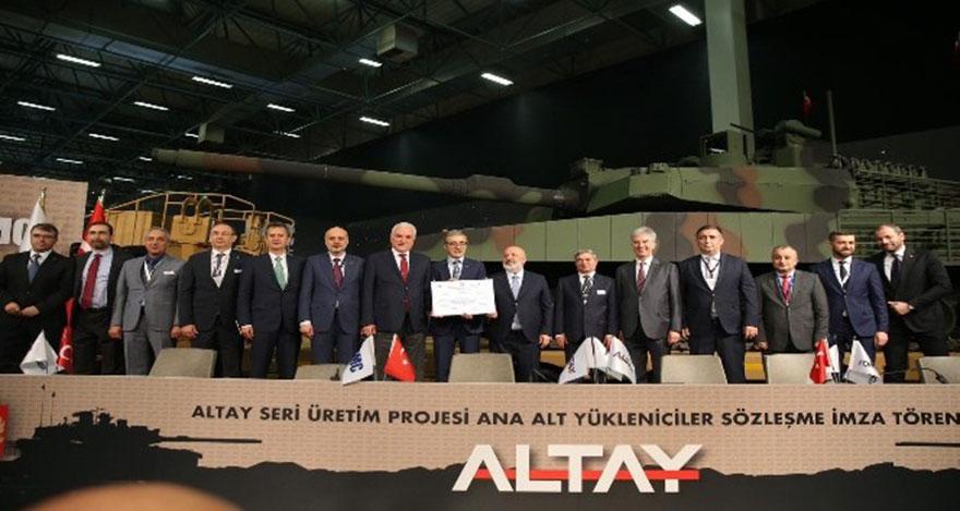 ALTAY Tankında ASELSAN sistemleri görev yapacak