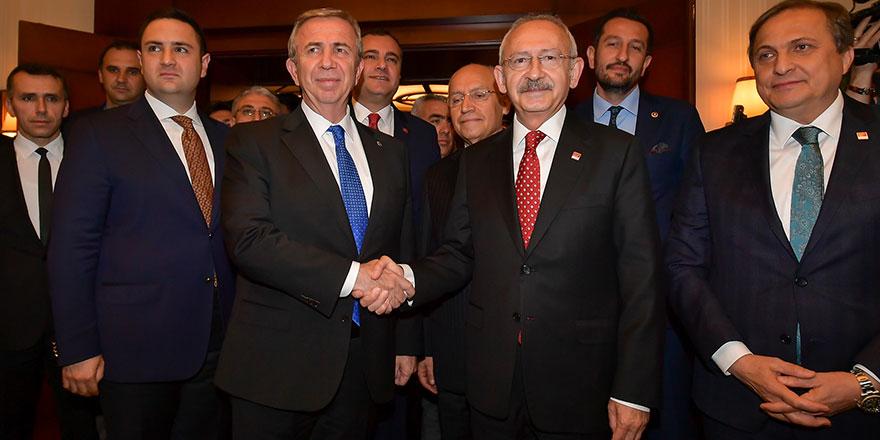 Kılıçdaroğlu: Mansur Yavaş'ı ziyaret etti