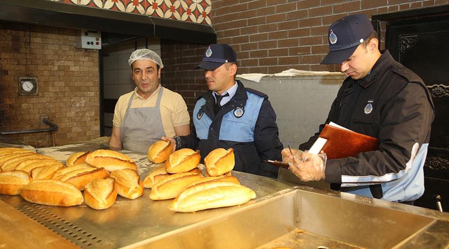 Gölbaşı Belediyesi'nden fırınlara ve pastanelere ramazan denetimi