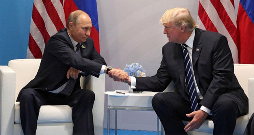 Trump ve Putin yaklaşık bir saat görüştü