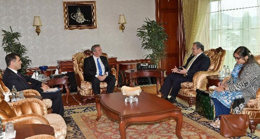 Başkan Yavaş'a büyükelçilerden hayırlı olsun ziyaretleri