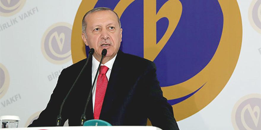Cumhurbaşkanı Erdoğan sert çıktı