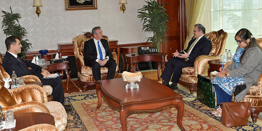 Başkan Yavaş büyükelçileri ağırladı