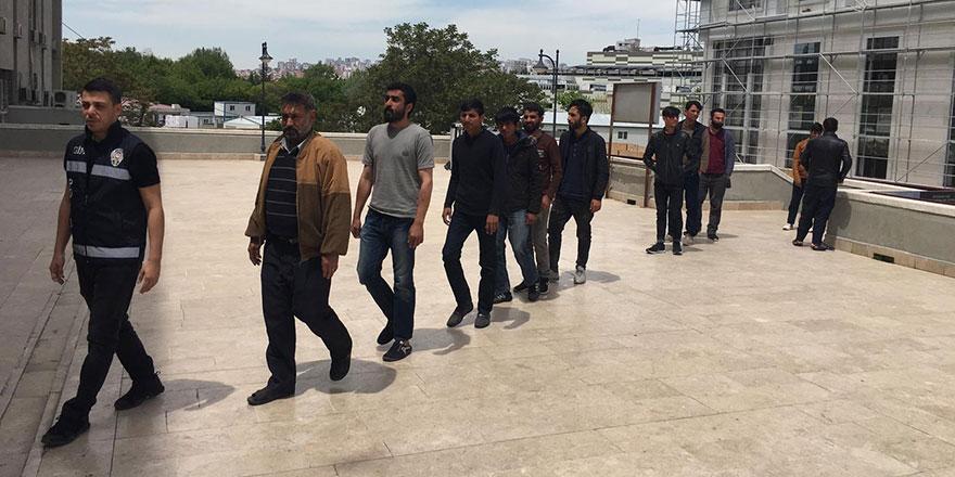 18 kaçak Afgan Ankara'da yakalandı