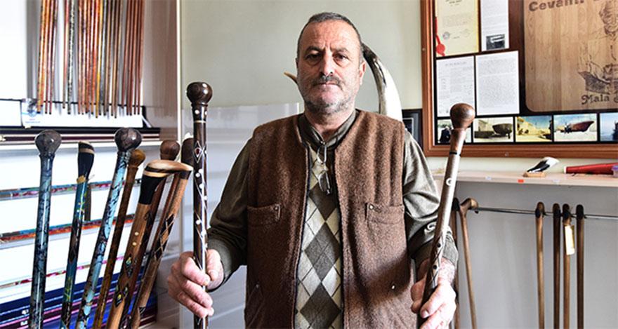 'Payitaht' bastonları yurt dışına açıldı