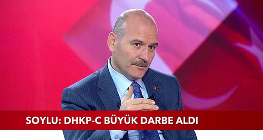Süleyman Soylu: TBMM'deki terörist CHP'li Tanal ile bağlantılı