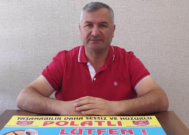 Yaşanabilir daha sessiz bir Polatlı için kampanya