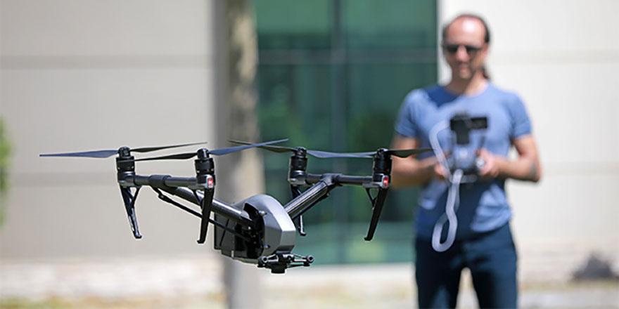 İzinsiz drone kullanan yandı