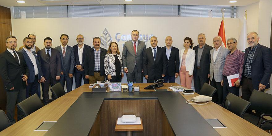 Başkan Taşdelen STK'larla bir araya geldi