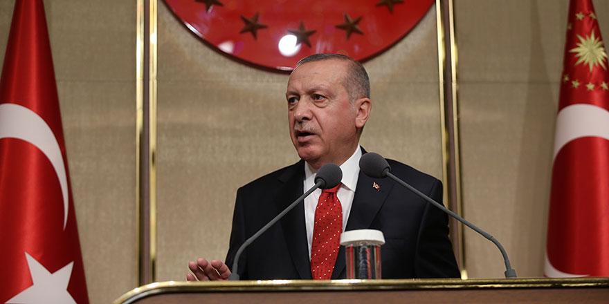 Cumhurbaşkanı Erdoğan eğitim çalışanlarına iftar verdi