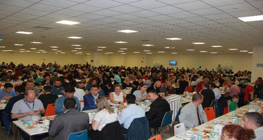 Ankara Şehir Hastanesinde ilk iftar sevinci yaşandı