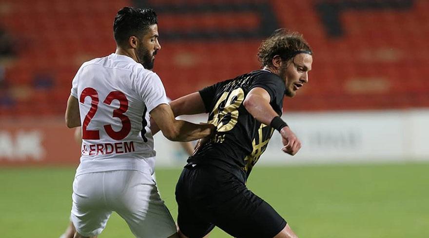 Osmanlıspor umut maçında