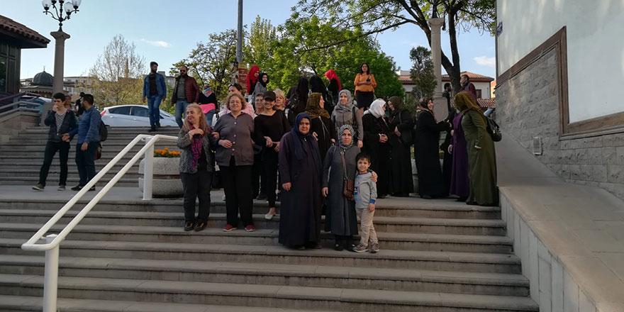 Mülteci kadınlarla Türk kadınları ortak etkinlikte