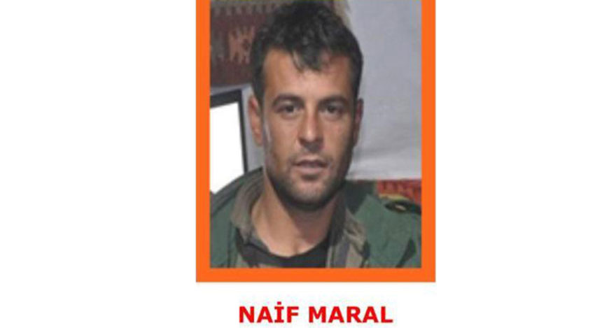 Turuncu listede olan terörist öldürüldü