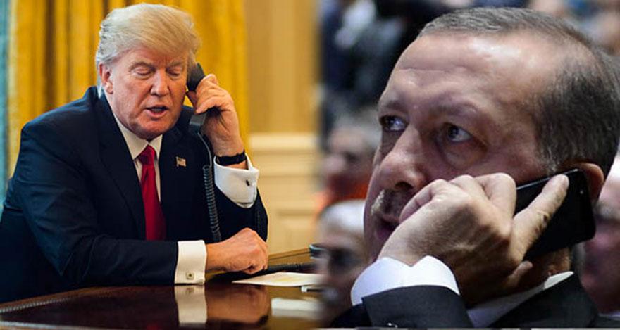 Erdoğan ve Trump arasında S-400 görüşmesi yaptı