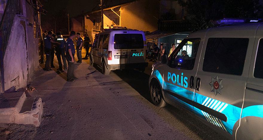 Ankara'da silahlı kavgada anne ve kucağındaki çocuk yaralandı