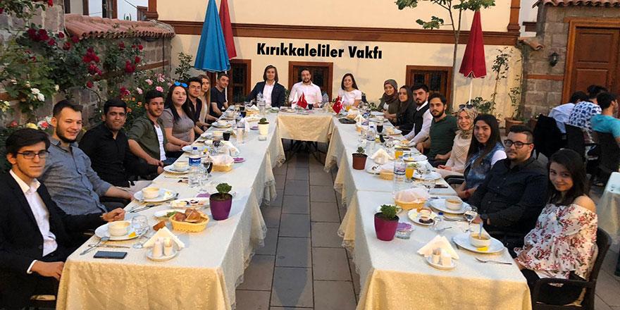 Kırıkkaleliler Vakfı Gençlik Kolları ilk toplantısını yaptı