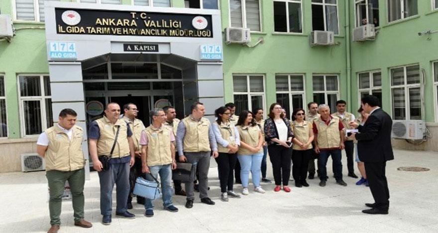 Ankara'da Ramazan Bayramı öncesi gıda denetimi