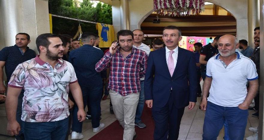 Başkan Balcı, 1910 Ankaragücü Taraftarlar Derneğinin iftarına katıldı