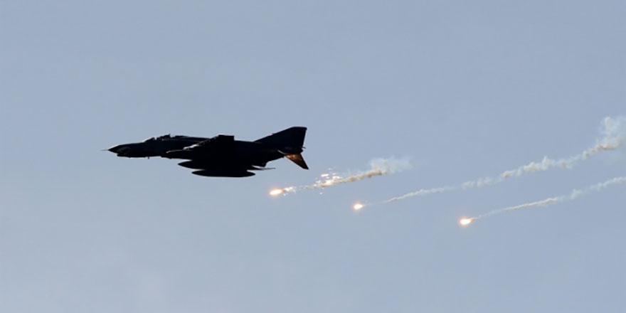 PKK'ya ait hedefler vuruldu