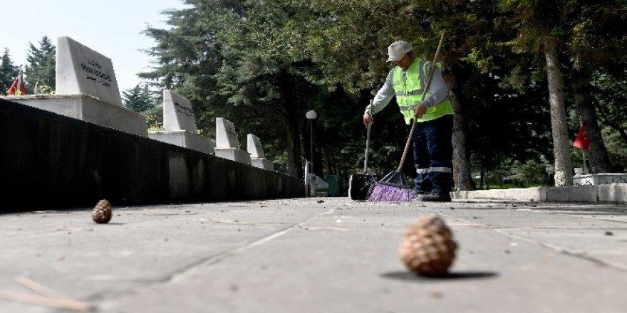 Başkent'te bayram temizliği