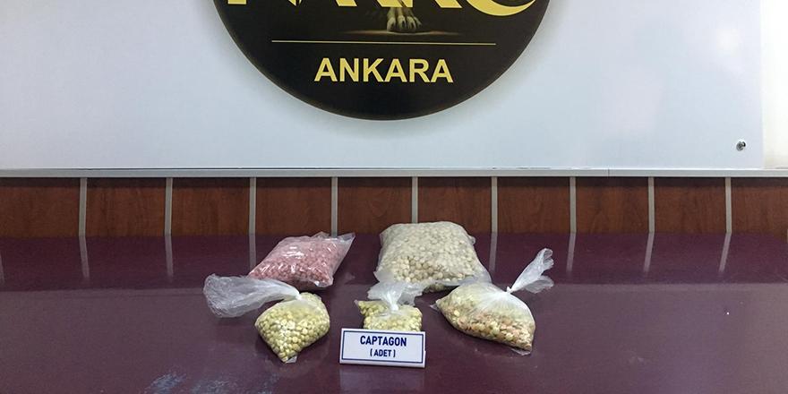Ankara'da uyuşturucu tacirlerine darbe