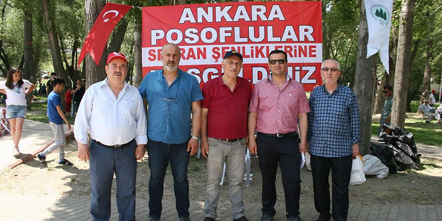 Posoflular'dan Ankara'da gövde gösterisi