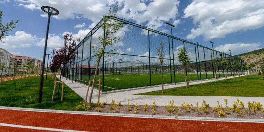 Altındağ'a yeni spor tesisi