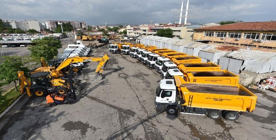 Altındağ Belediyesi araç filosunu genişletti