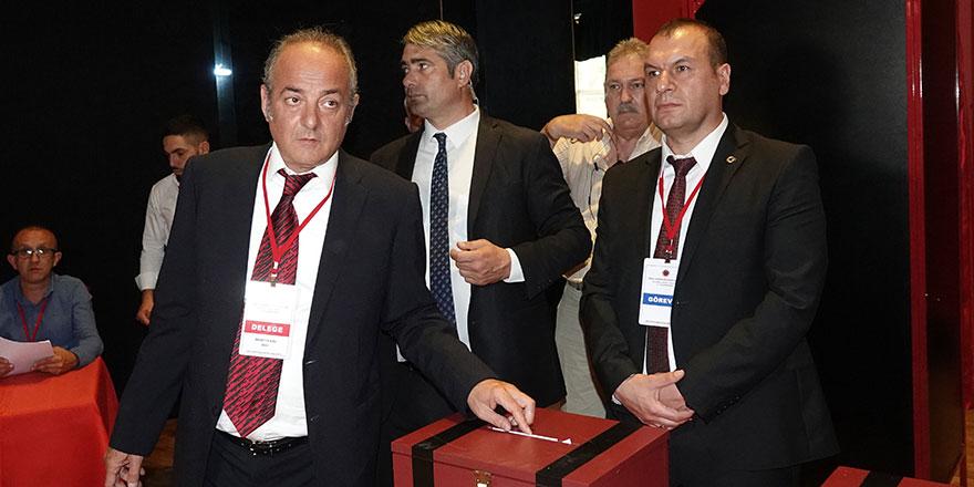 Murat Cavcav yeniden başkan