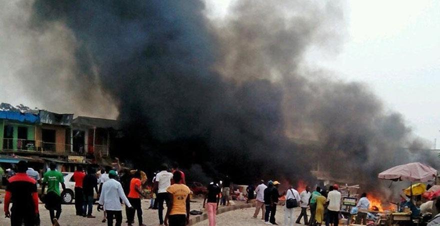 Nijerya'daki intihar saldırısında 30 kişi öldü