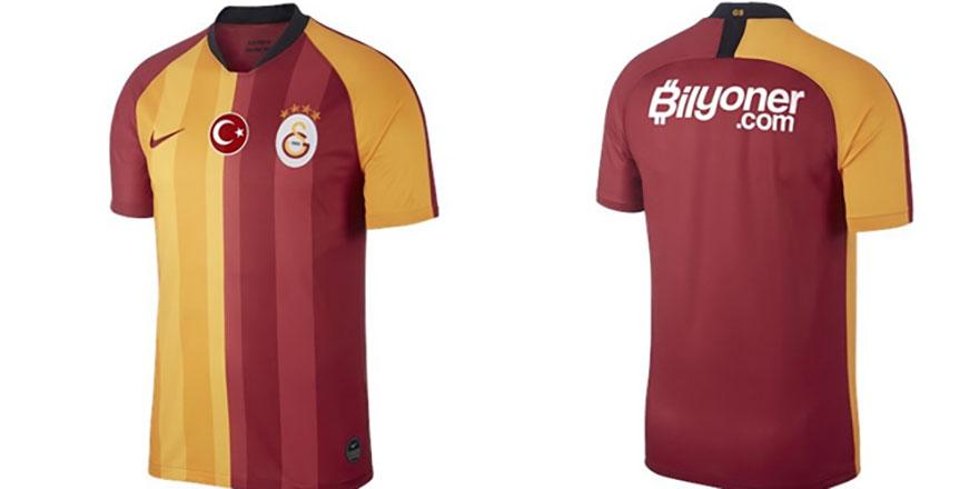 Galatasaray'ın iç saha forması tanıtıldı