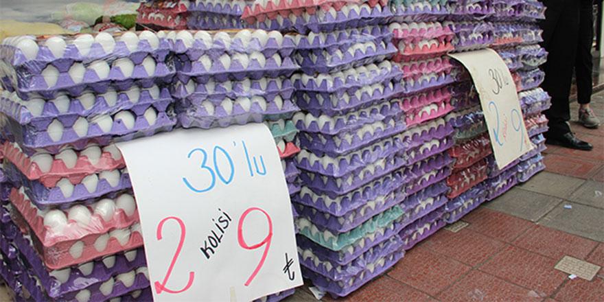 Yumurtanın koli fiyatı düştü